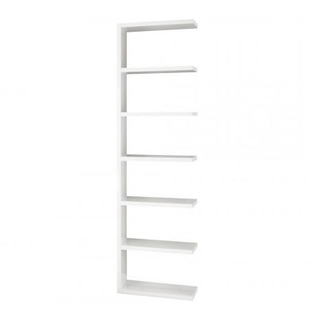 Corp rafturi Concept I panou fagure, alb, 59.3 x 221.2 x 33.2 cm
