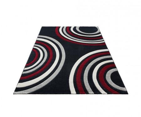 Covor Home Affaire, negru/rosu/alb, 200 x 300 cm