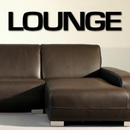 Decoratiune de perete Lounge, plastic, negru, 25 x 120 cm
