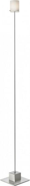 Lampadar Slim II, metal/sticla, argintiu, 15 x 120 x 15 cm, 13w
