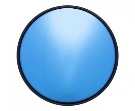 Oglindă de perete albastră Celebration, 60cm