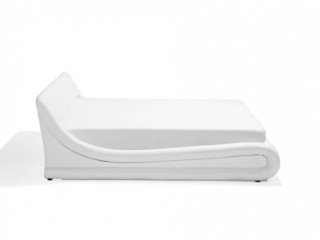 Pat AVIGNON, piele sintetica, alb 160 x 200