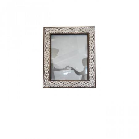 Rama foto Genova, metal/lemn, 32 x 27 x 2 cm