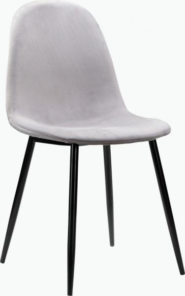 Set de living Monza Eadwine masa + 4 scaune, MDF/metal, 120x80x76 cm