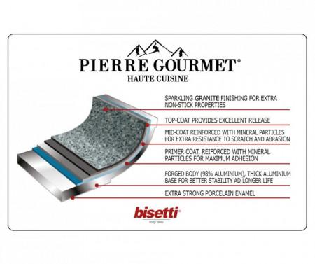 Set vase pentru gatit 13 piese Pierre Gourmet by Bisetti