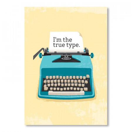 Tablou Typewriter by Patricia Pino, 60 x 42 cm