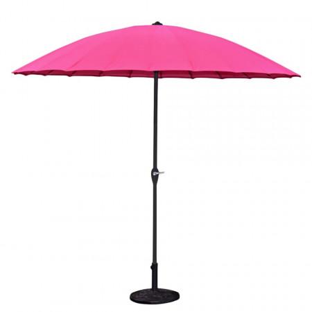 Umbrela de soare Hoxter roz, 255 x 250 cm