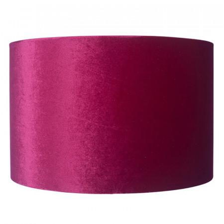 Abajur din catifea, roz, d. 25cm