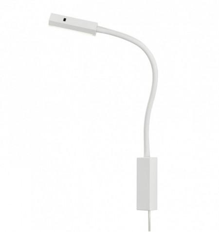 Aplica LED Maripa I metal/plastic, 1 bec, alb, 230 V, 3000 K