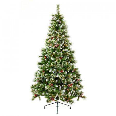 Brad artificial de Crăciun, 260 de lumini