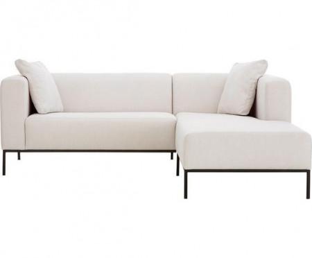 Coltar Carrie, textil, bej, 222 x 180 cm