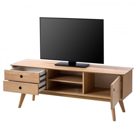 Comoda TV Michalin MDF/stejar masiv