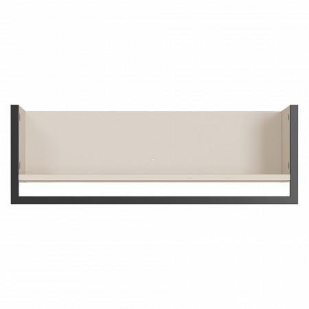 Cuier Madeo PAL/metal, alb, 76 x 26 x 30 cm