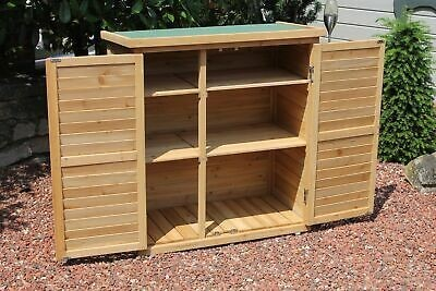 Dulap de gradina, lemn glazurat