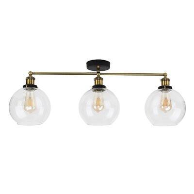 Lustră Lila cu 3 lumini, LED, 31 x 70 cm