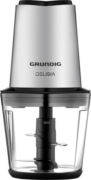 Mini tocător Grundig CH 7680, 500 W, oțel inoxidabil, negru