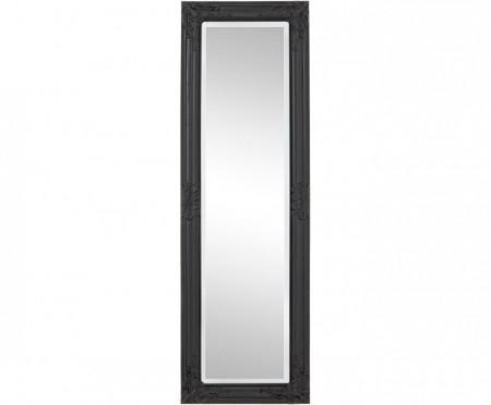 Oglindă Miro cu cadru din lemn negru, 132 x 42cm