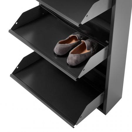 Pantofar de metal Lymington I, 169cm, antracit