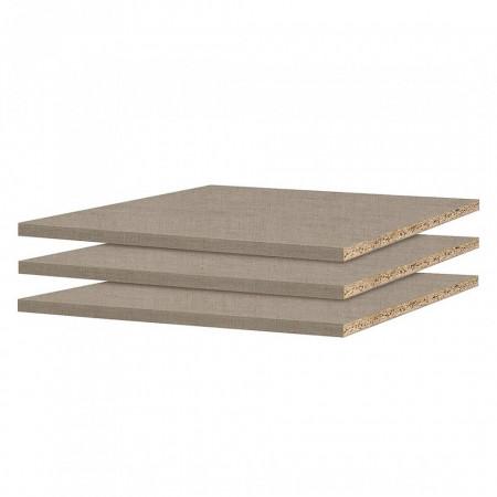 Set de 3 polite pentru dressing cu dimensiuni 54-57cm