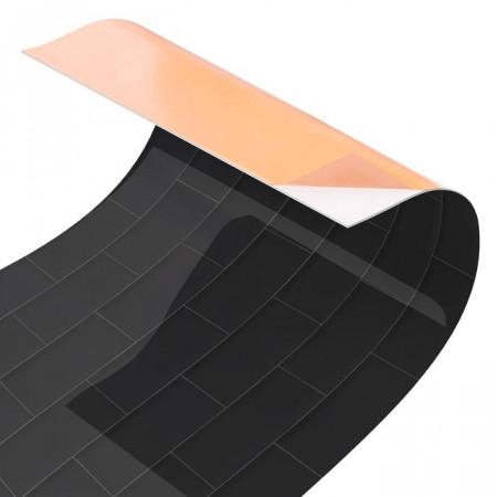Tapet bucatarie, PVC, gri, 70 x 300 cm