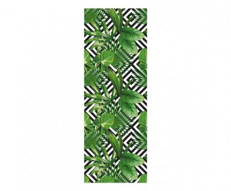 Tapet Geometric Leaf, 90x250 cm