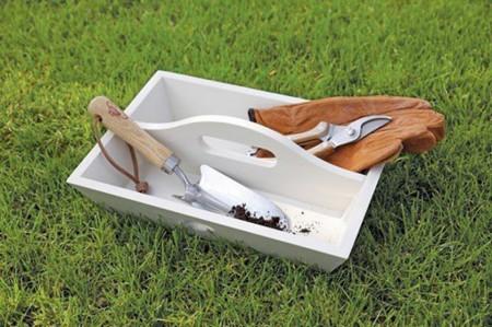 Trusa de lemn pentru uneltele de grădinărit by Esschert Garden