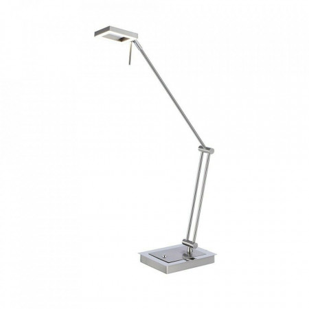 Veioza LED Inigo aluminiu, argintiu, 5 W, 480 lm