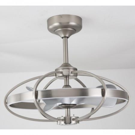 Ventilator de tavan Carters, Gri/Argintiu