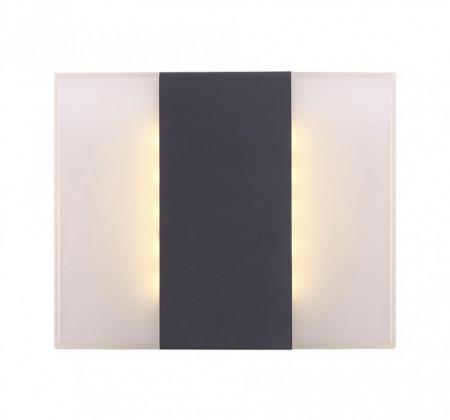 Aplica LED Moonlight II aluminiu / plastic, alb/negru, 230 V