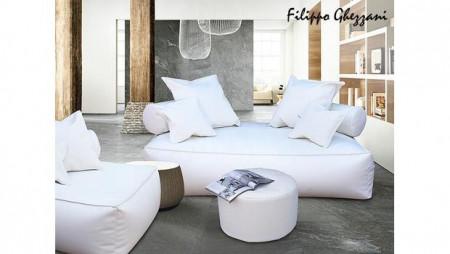 Canapea de 2 persoane tip divan Panama Alba by Filippo Ghezzani