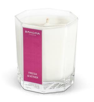 Candela parfumata Bahoma Freesia Vetiver