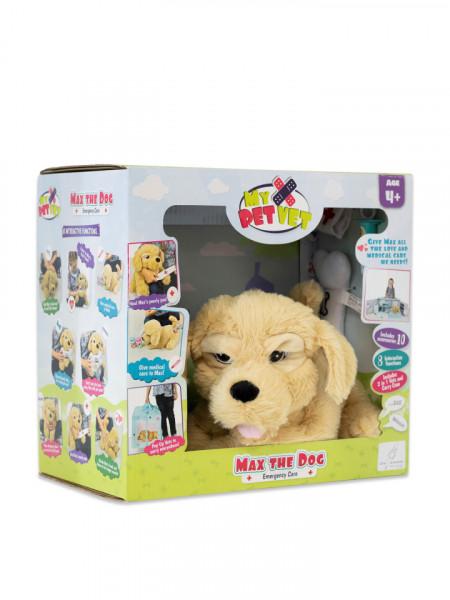 Catel interactiv Max The Dog la veterinar