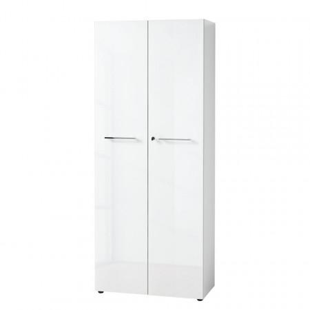 Dulap pentru documente Monteria, 196 cm, alb