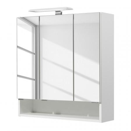 Dulapior cu oglinda Sarah I PAL, alb, 65 x 70 x 20 cm