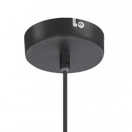 Lustra tip pendul Lenn fier, negru, 1 bec, diametru 41 cm, 230 V