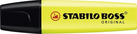 Marker galben Stabilo Boss Original