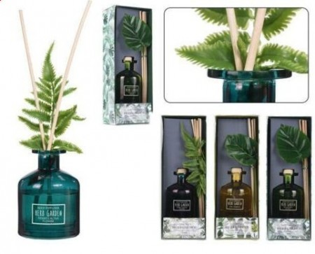 Odorizant de camera lichid Reed Herb Garden cu bete de bambus