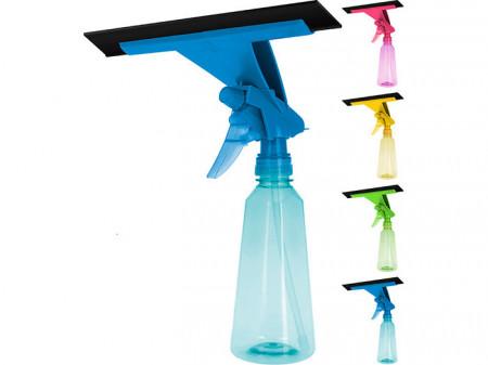 Recipient pentru racleta de curatat geamuri cu pulverizator Karll, 300 ml