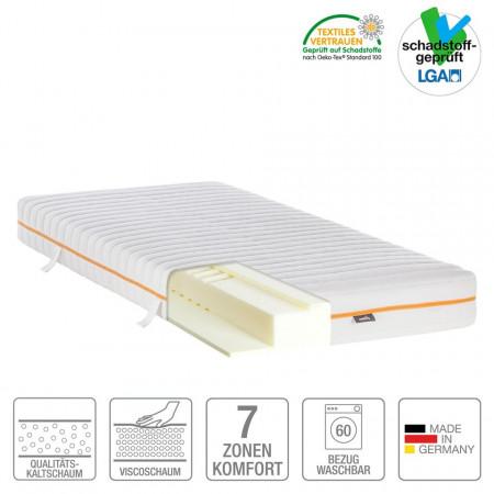 Saltea 7-Zone spuma rece mazzy 90 x 200