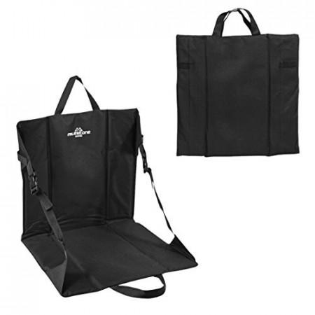 Scaun pliabil si portabil Milestone, negru