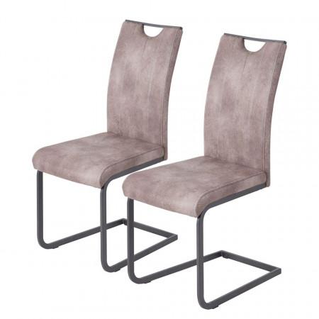 Set de 2 scaune Grayson - bej vintage