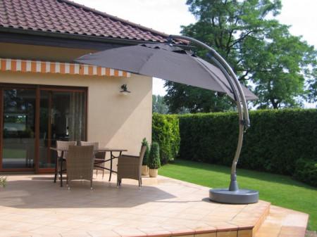 Umbrela de soare Easy Sun III -Aluminiu / Tesatura - gri antracit