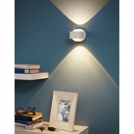 Aplica LED ONO aluminiu, alb, 2 becuri, 230 V, 5 W, 460 lm