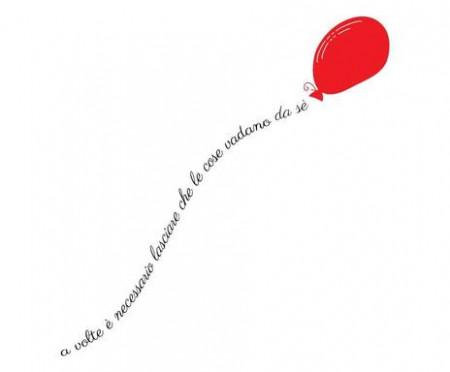 Autocolant de perete Let It Go, 20x100cm