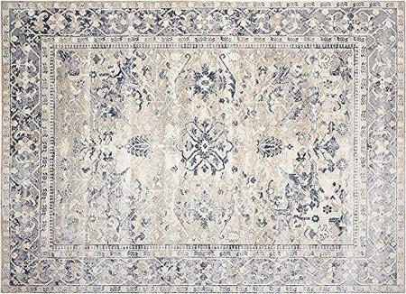 Covor Malta crem / albastru, 120 x 170cm