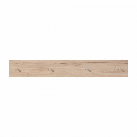 Cuier Colorado MDF/metal, maro, 106 x 15 x 5 cm