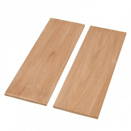 Etajera Oxbow I, otel/lemn masiv de Paulownia