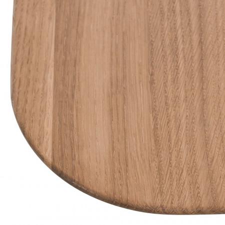 Masa lunga Sander stejar masiv, maro, 180 x 75 x 90 cm