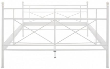 Pat metalic Thora, alb, 90x 200 cm