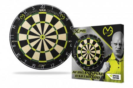 Placa de darts XQMAX Michael van Gerwen, sisal african